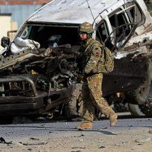 Afganistane sprogus bombai žuvo JAV karys