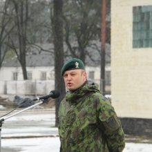 Kęstučio batalionui vadovaus V. Andreika
