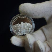 Trakų piliai atminti – gryno sidabro medalis