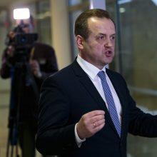 A. Skardžius išvengė atsiprašymo Seimo salėje už sušaudytą taikinį