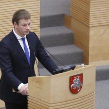 Seimas patvirtino 2018 metų biudžetą