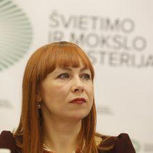Vėl trūko mokytojų kantrybė: ministrė negeba valdyti padėties