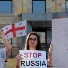 Siūlo taikyti sankcijas už žmogaus teisių pažeidimus Gruzijoje