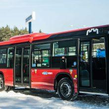 Nuo balandžio pradžios – maršrutų pokyčiai ir naujų autobusų banga