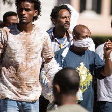 Pagal ES programą į Lietuvą perkelti 2 pabėgėliai iš Eritrėjos