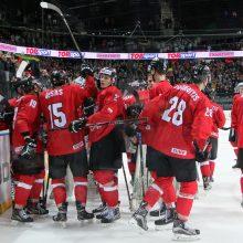 Lietuvos ledo ritulininkai nugalėjo Ukrainą ir pratęsė pergalių seriją