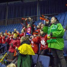 Lietuvos ledo ritulininkai po baudinių serijos įveikė japonus