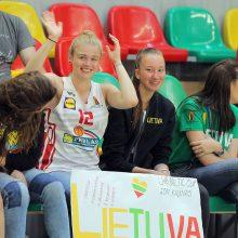 Lietuvos šešiolikmečių merginų rinktinė pergale pradėjo Baltijos taurės turnyrą