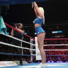 Olimpietis E. Petrauskas profesionalų ringe debiutavo pergale