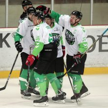 """""""Kauno Hockey"""" ledo ritulininkai nusileido čempionams"""
