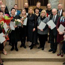Įteiktos Kultūros ministerijos premijos