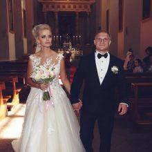 Boksininkas E. Petrauskas su žmona susilaukė kūdikio