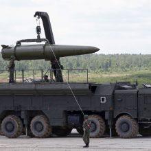 """JAV: """"Iskander"""" dislokavimas Kaliningrade destabilizuoja padėtį"""