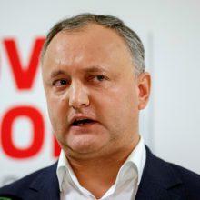 Moldovos prezidentas laikinai nušalintas nuo pareigų