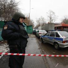 Prie Maskvos sugriuvus pramonės pastatui žuvo mažiausiai du žmonės