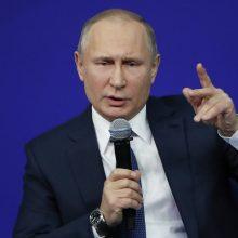 V. Putinas vėl apgailestavo dėl SSRS subyrėjimo