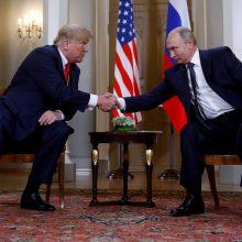 V. Putinas ir D.Trumpas šiemet gali susitikti dar tris kartus
