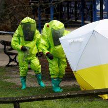 M. Pompeo: dėl incidento Solsberyje Rusija turi sulaukti atsako sankcijų pavidalu