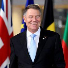 Prezidentas: krizę patyrusi Rumunija pasiruošusi pirmininkauti ES