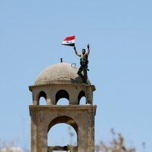 """Sirijos pajėgos skelbia visiškai eliminavusios IS """"kalifatą"""""""