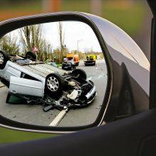 Savaitgalį per eismo įvykius sužeista 40 žmonių