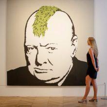 Grafitininkas sako neturintis nieko bendra su paroda Maskvoje: kas čia per velniava?