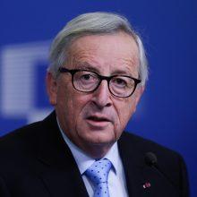 """Junckeris: JK balsavimas EP rinkimuose būtų """"pavėluotas istorijos pokštas"""""""