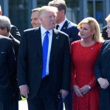 Prezidentė apie vizitą į Vašingtoną: tokio lygio susitikimas įvyks pirmą kartą