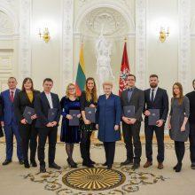 Prezidentė: jaunųjų mokslininkų atradimai – pažangos variklis