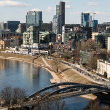 Vilniaus patrauklumas investuotojams bus lyginamas su penkiais miestais konkurentais