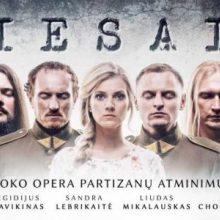 """Ketvirtadienį – roko operos """"Priesaika"""" premjera"""