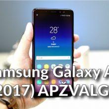 """Galingas vidutiniokas: """"Samsung Galaxy A8"""" apžvalga"""
