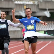 Kauno maratone olimpietis bėgs su šypsena