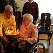 Domeikaviškė atšventė 100-ąjį gimtadienį