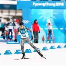 Pjongčange – sėkmingi N. Kočerginos šūviai ir solidus pasiekimas