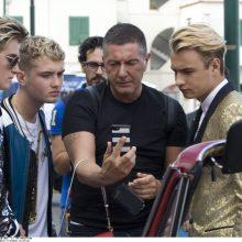 Garsųjį italų dizainerį S. Gabbaną nervina domėjimasis jo homoseksualumu