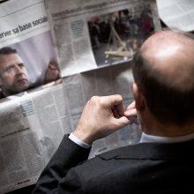 Prancūzijos pagalba spaudai: pagalvė krizės atveju