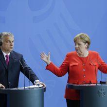 A. Merkel ir V. Orbanas surėmė ietis dėl ES vertybiųOrbanas surėmė ietis dėl E