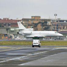 Romos oro uoste evakuoti keleiviai