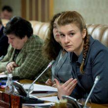 """Maskva: JAV sulaikyta įtariama rusų agentė M. Butina – """"politinė kalinė"""""""