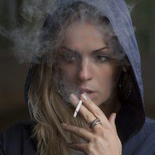 Gydytojas atskleidė, kodėl rūkaliai nepasižymi gera uosle
