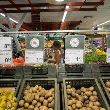 Palygino kainas parduotuvėse: pernai labiausiai pabrango bulvės