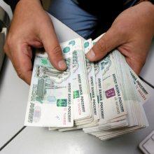 D. Trumpo smūgis Rusijai: rublio kursas nukrito iki žemiausio lygio