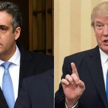 Vasarį Kongrese liudys buvęs D. Trumpo advokatas M. Cohenas