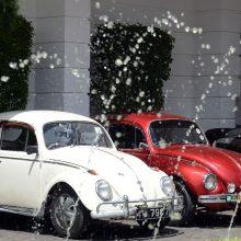 """""""Volkswagen"""" nutraukia """"Beetle"""" automobilių gamybą"""