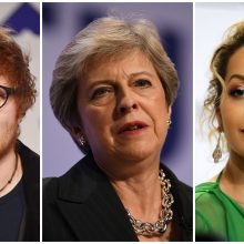"""Britų atlikėjų laiškas premjerei Th. May: ragina stabdyti """"Brexit"""""""