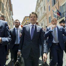 Ar Italijos populistai apvers Europą aukštyn kojom?