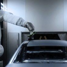 """""""Audi"""" surado efektyvesnį būdą, kaip automobilį nudažyti dviem spalvomis"""