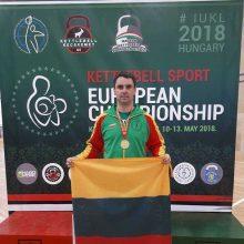 Vicemeras trečiąkart tapo Europos čempionu