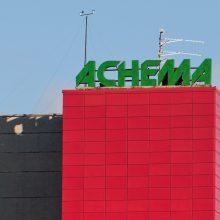 """""""Achemos"""" vadovai ragina profesinę sąjungą ieškoti dialogo"""